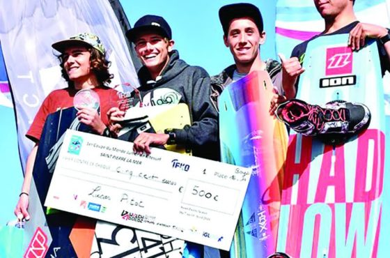 Coupe du Monde de Kite Surf Junior : Deux Mauriciens en tête