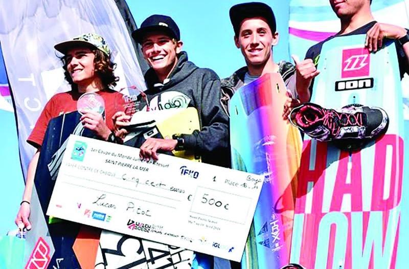 Coupe du Monde de Kite Surf Junior : Deux Mauriciens en tête