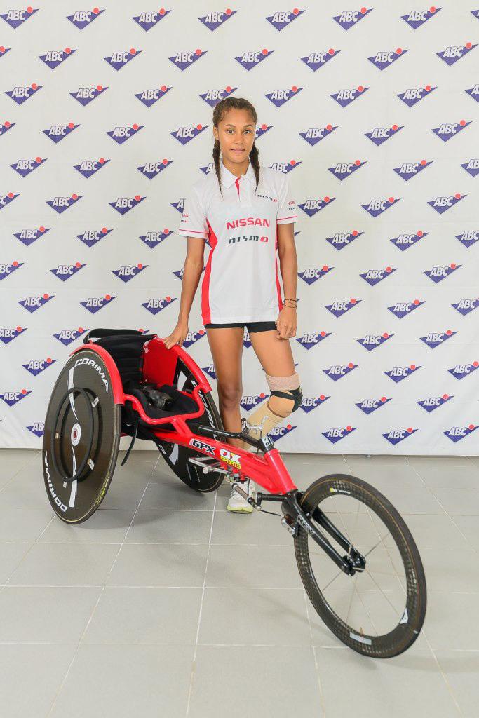 Noemi Alphonse - athlète - ile maurice