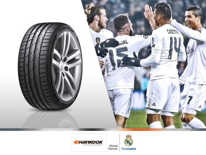 Hankook nouveau partenaire officiel du Real Madrid CF
