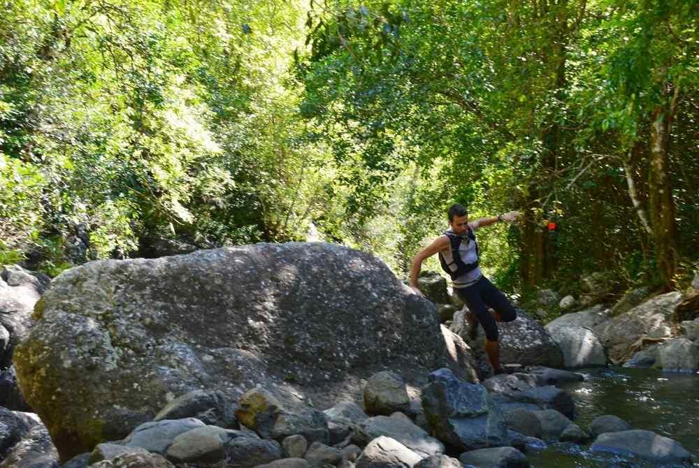 Le Mauricien Romain Bayol a terminé à la deuxième place au 120km