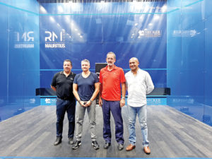 hosts the primary nationwide squash championship