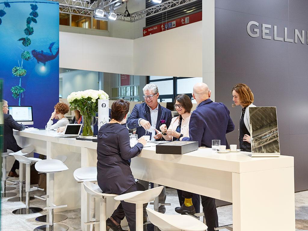 Salon de la bijouterie à Munich, 2017.