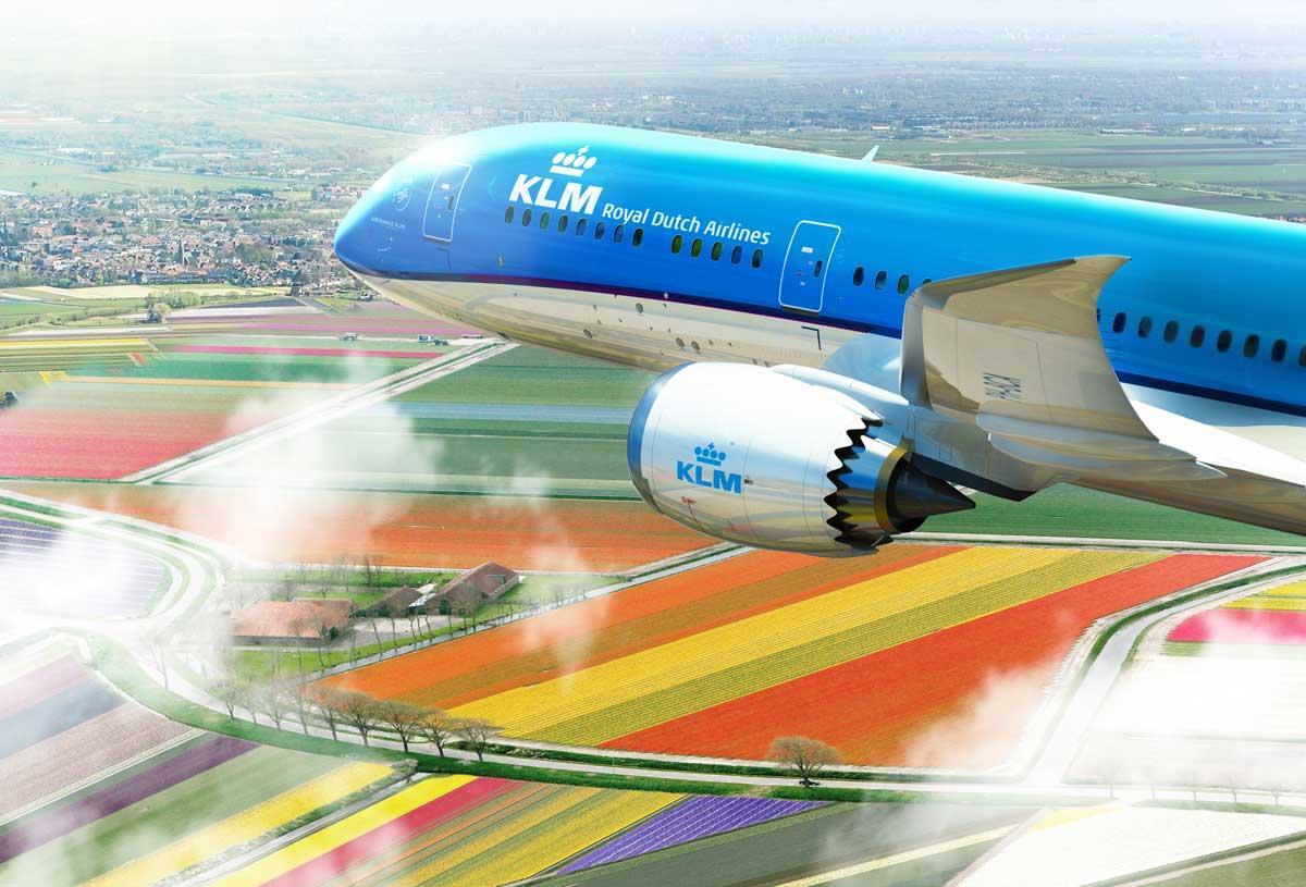 Le Boeing 787-9 de KLM