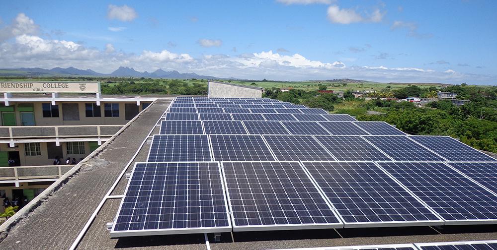 fermes photovoltaïques