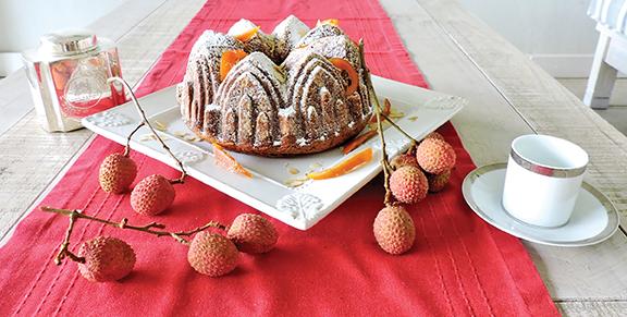 Moelleux au chocolat blanc intense et aux amandes