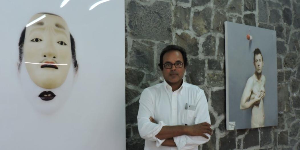 Salim Currimjee, artiste incarné de l'art contemporain