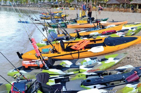 Mautiyak/Nabridas : Kayak Fishing Competition