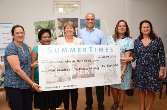 SummerTimes gratifie 5 ONGs