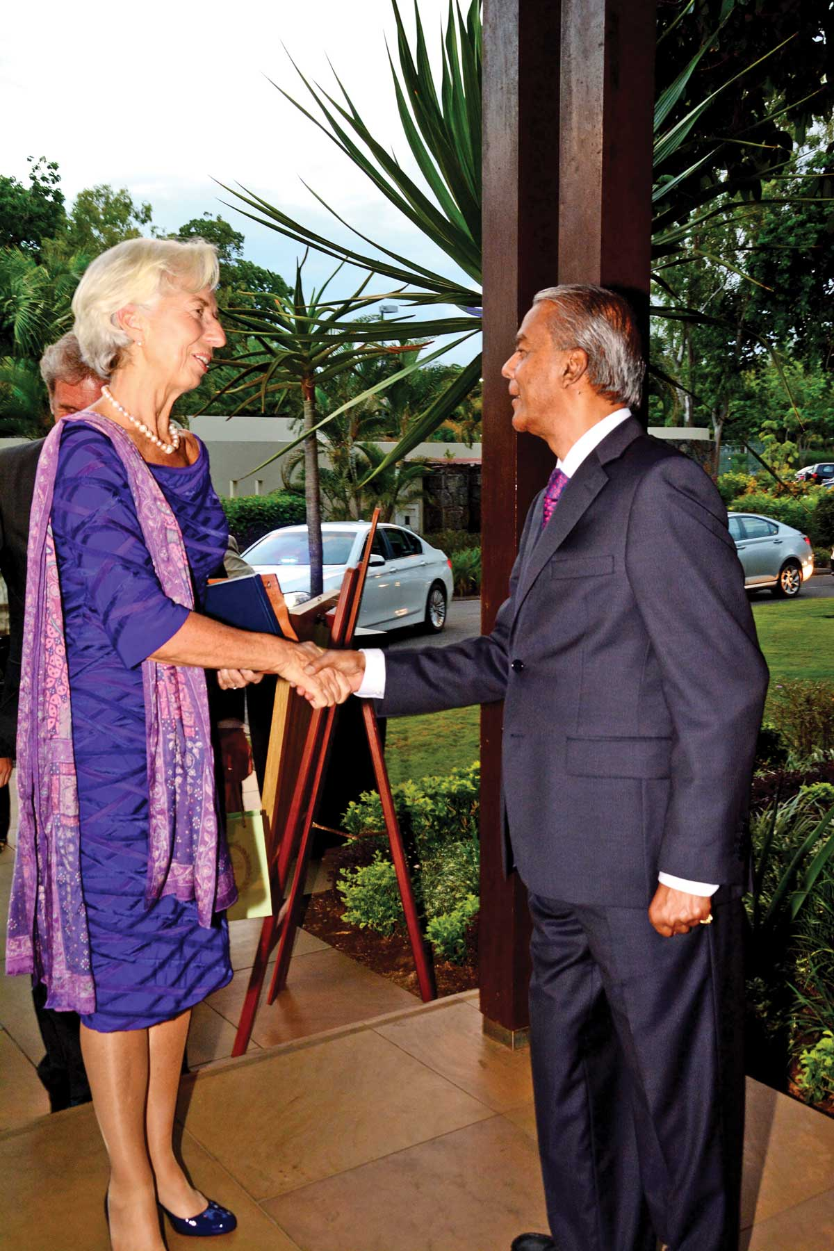 Christine Lagarde - FMI -Ile Maurice