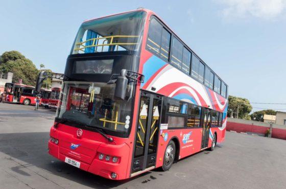 Transport en commun : Le bus à impériale de retour sur nos routes de Maurice après 54 ans