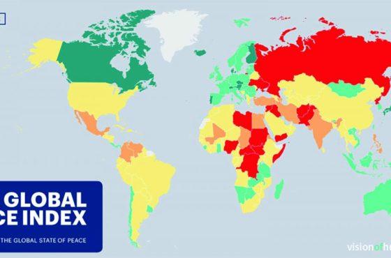 Maurice fait partie des 10 seuls pays au monde à vivre sans conflit
