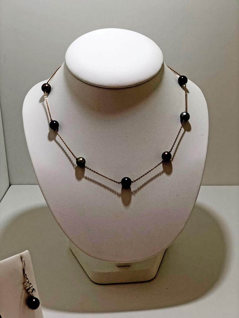 collier perle ile maurice