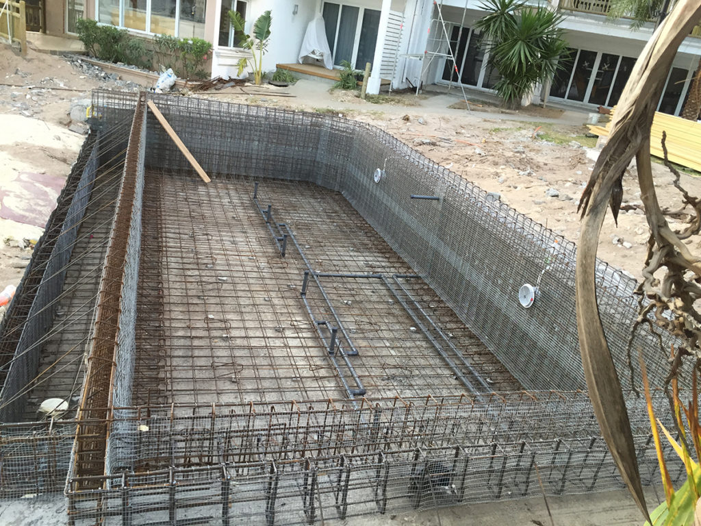 Blue Marine, un système breveté pour la construction de piscine béton