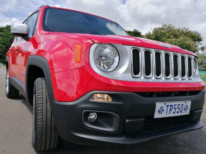 Test Jeep Renegade