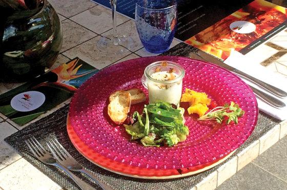 Flowers of Paradise: découverte du déjeuner gastronomique