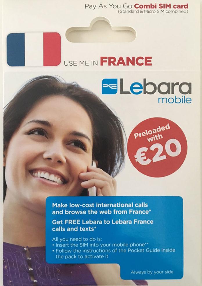 La carte Lebara, une alternative au roaming