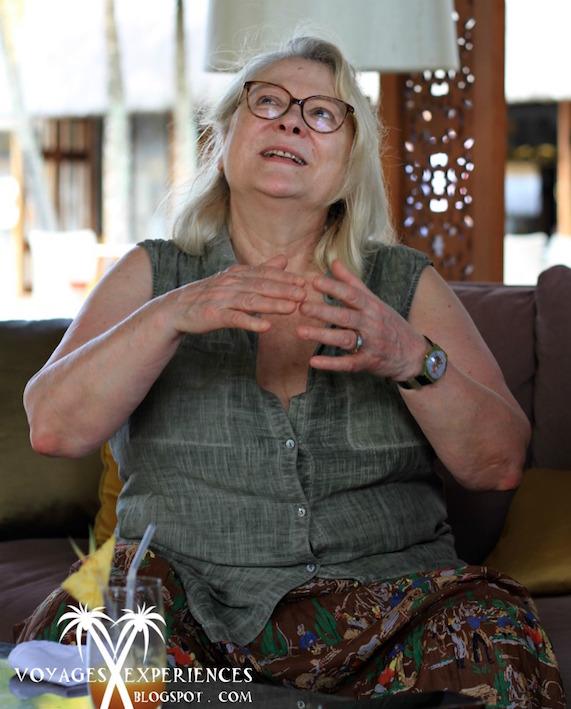 Josiane Balasko : La psy troublée en « vacances » à Maurice
