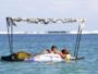 Massage sur paddle à La Réunion