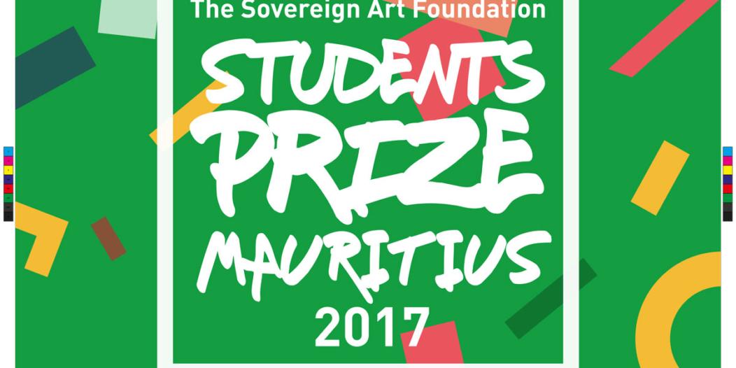 Affiche de la compétition de la Sovereign Art Foundation 2017 à Maurice