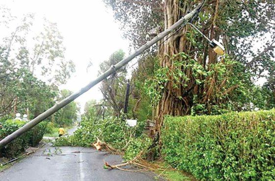 Saison Cyclonique à l'île Maurice