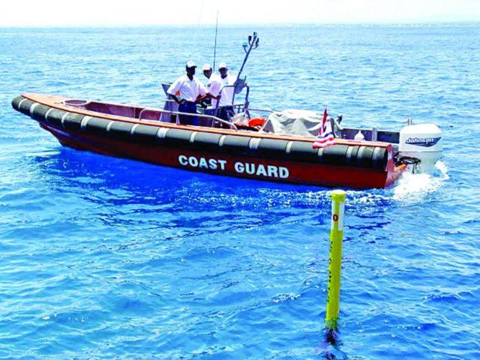 29e anniversaire de la National Coast Guard à Maurice