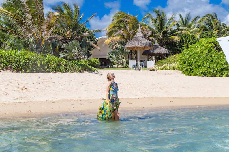 People : Paris Hilton accueillie au SO Sofitel Mauritius