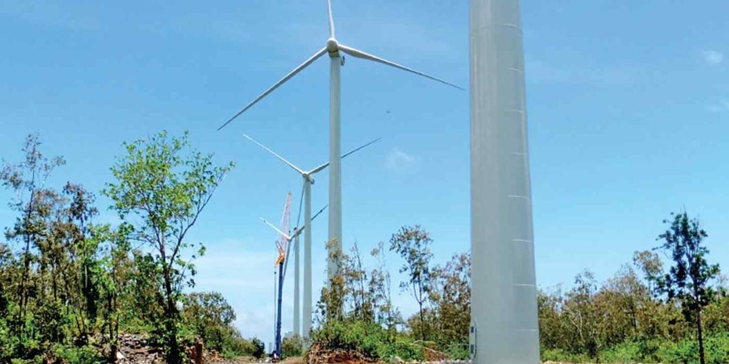 Énergies renouvelables : l'île Maurice se met à l'énergie éolienne