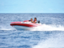 Sur l'eau, à toute vitesse