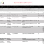 Programme Mois de la Francophonie