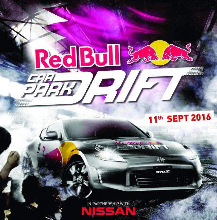 Red Bull Car Park Drift Series 2016 à Maurice