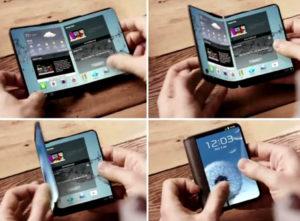 Samsung Galaxy X : le Smartphone pliable une réalité en 2017 ?