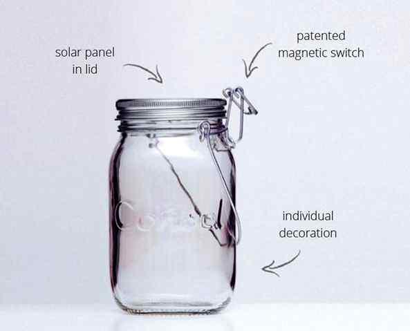 Consol Solar Jar à Maurice