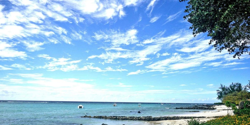 Zones côtières Mauriciennes : Pas de récif, pas de plage