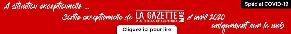 sortie La Gazette Mag avril 20020