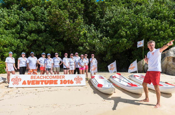 Le Dinarobin Beachcomber accueille la Beachcomber Aventure 2017