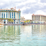 15178808 – waterfront in port louis, mauritius