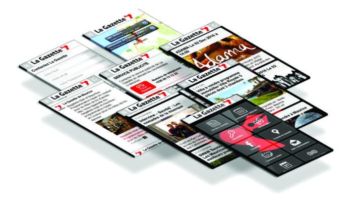 La Gazette App : La Gazette au bout des doigts