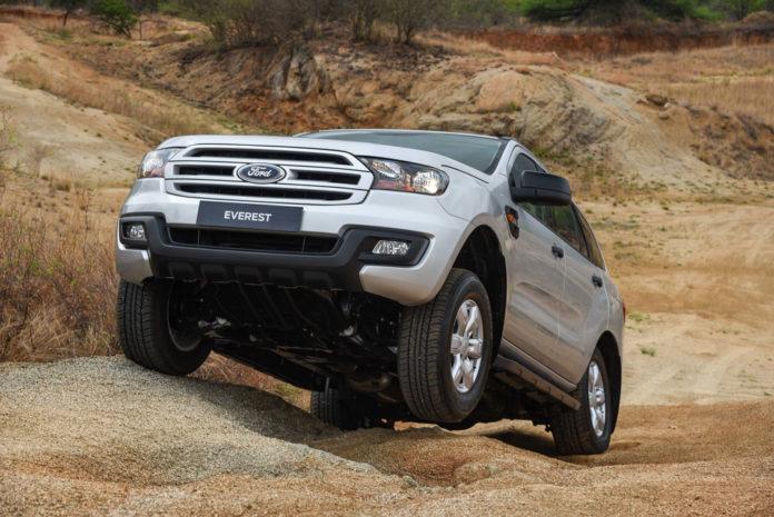 nouvelle Ford Everest