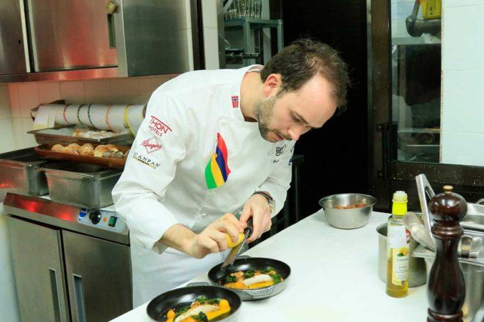 Le Chef Orjan Johannessen au Festival Culinaire Bernard Loiseau en 2016