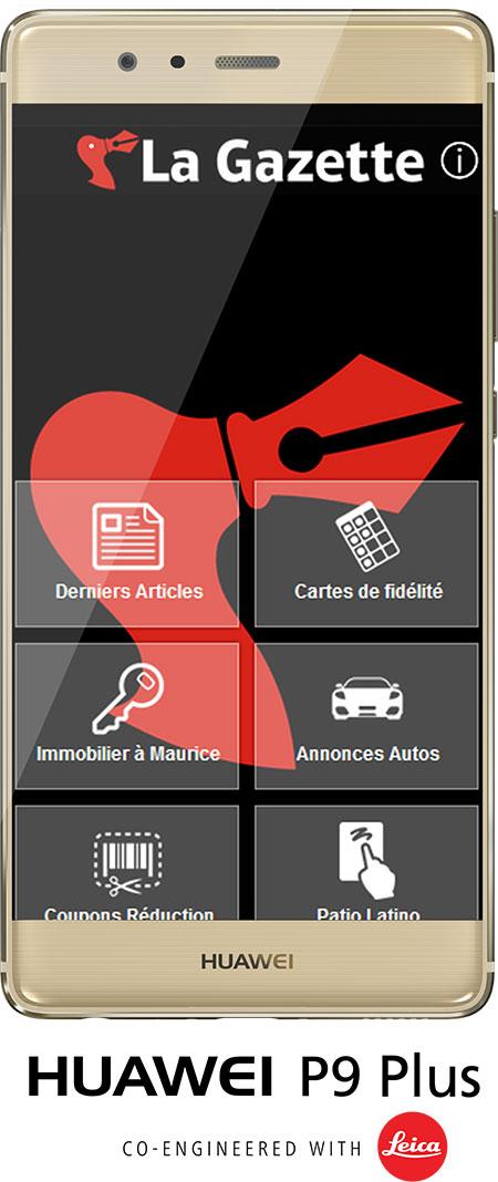 Concours La Gazette Huawei