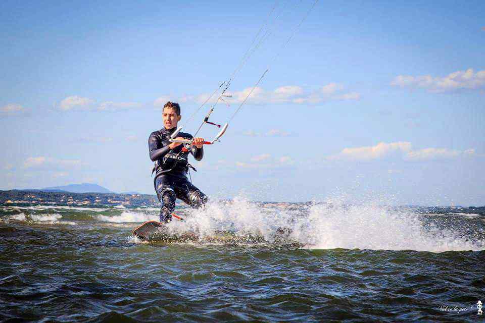 Nino Liboni : Jeune espoir du Kite Surf