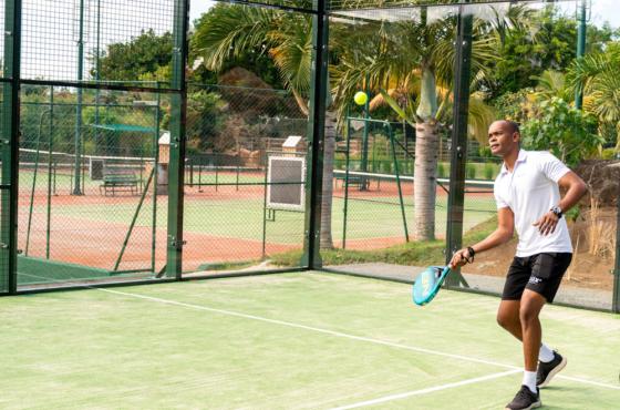 Padel Tennis LUX* Grand Gaube
