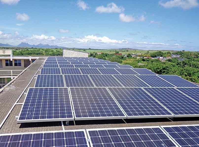 Panneaux solaires à Maurice