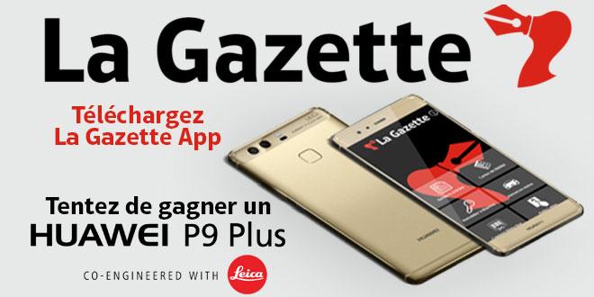 concours La Gazette App