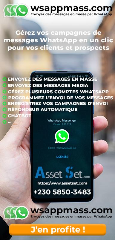 Envoyer des messages en masse sur WhatsApp