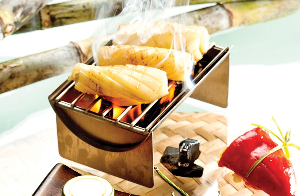 Calamar grill la confiture de piment de maurice - Recette calamar grille barbecue ...