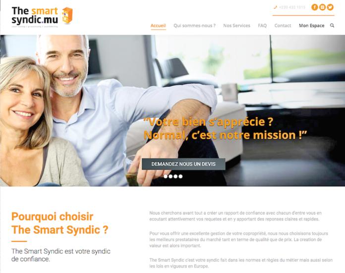 www.thesmartsyndic.mu: Un site interactif et sophistiqué dédié aux copropriétaires