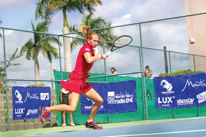 Tennis : Mary Pierce Indian Ocean Series à La Croisette