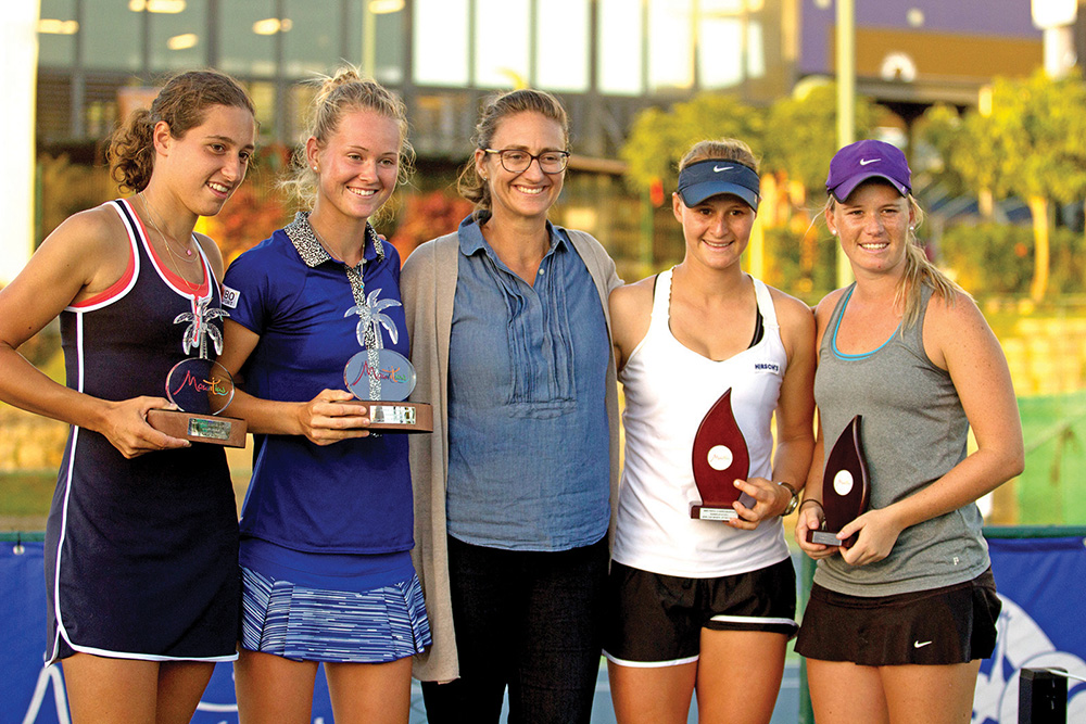 Tennis : Mary Pierce Indian Ocean Series à La Croisette